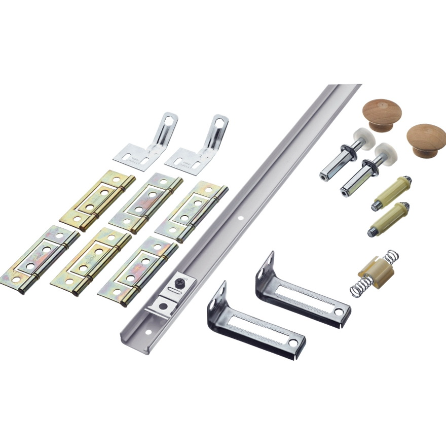 Closet Sliding Door Hardware Kit
