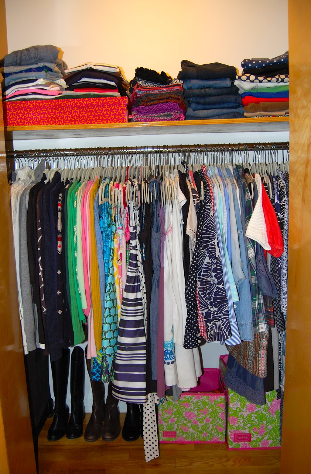 Closets Are For Clothes Not People