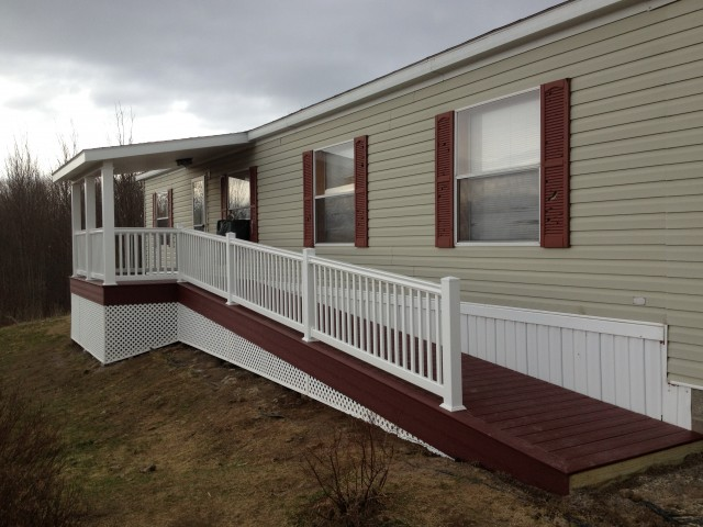 Composite Deck Railing Installation