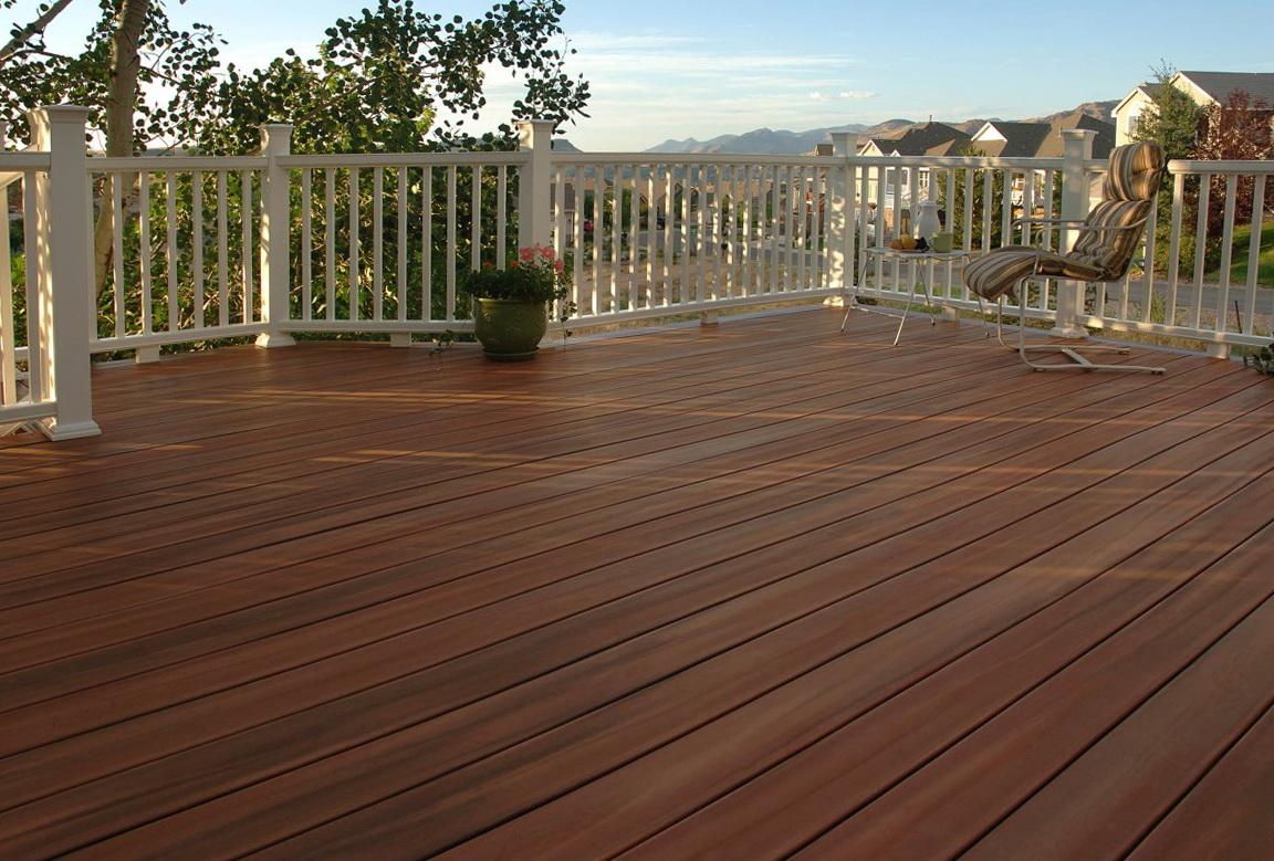 Composite decking home depot canada home design ideas for Home depot deck designer