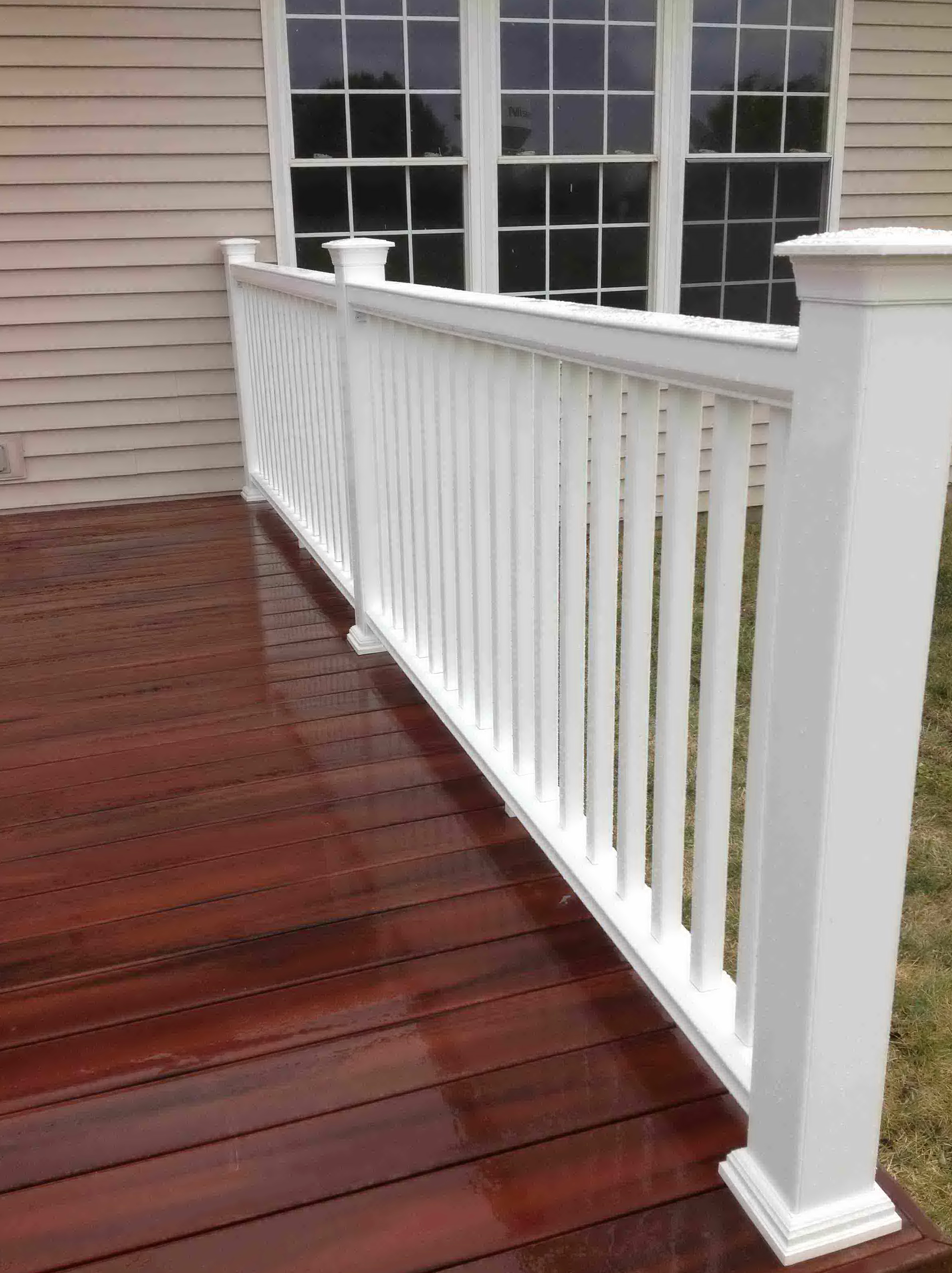 Fiberglass Decking Material : Composite decking material home design ideas