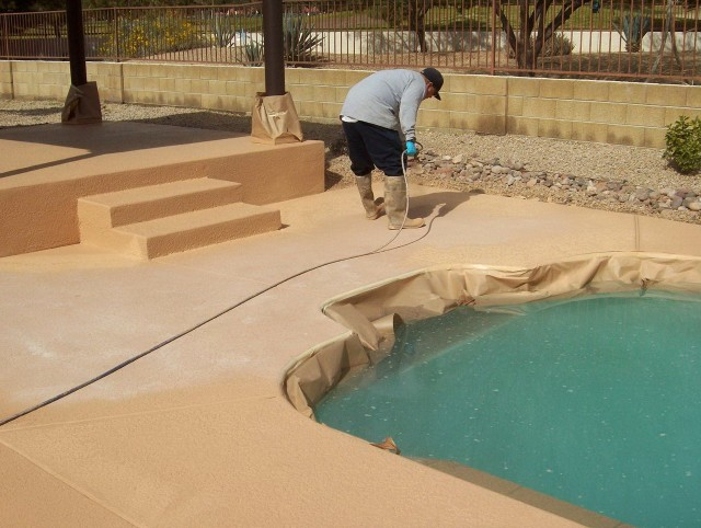 Concrete Pool Deck Coatings
