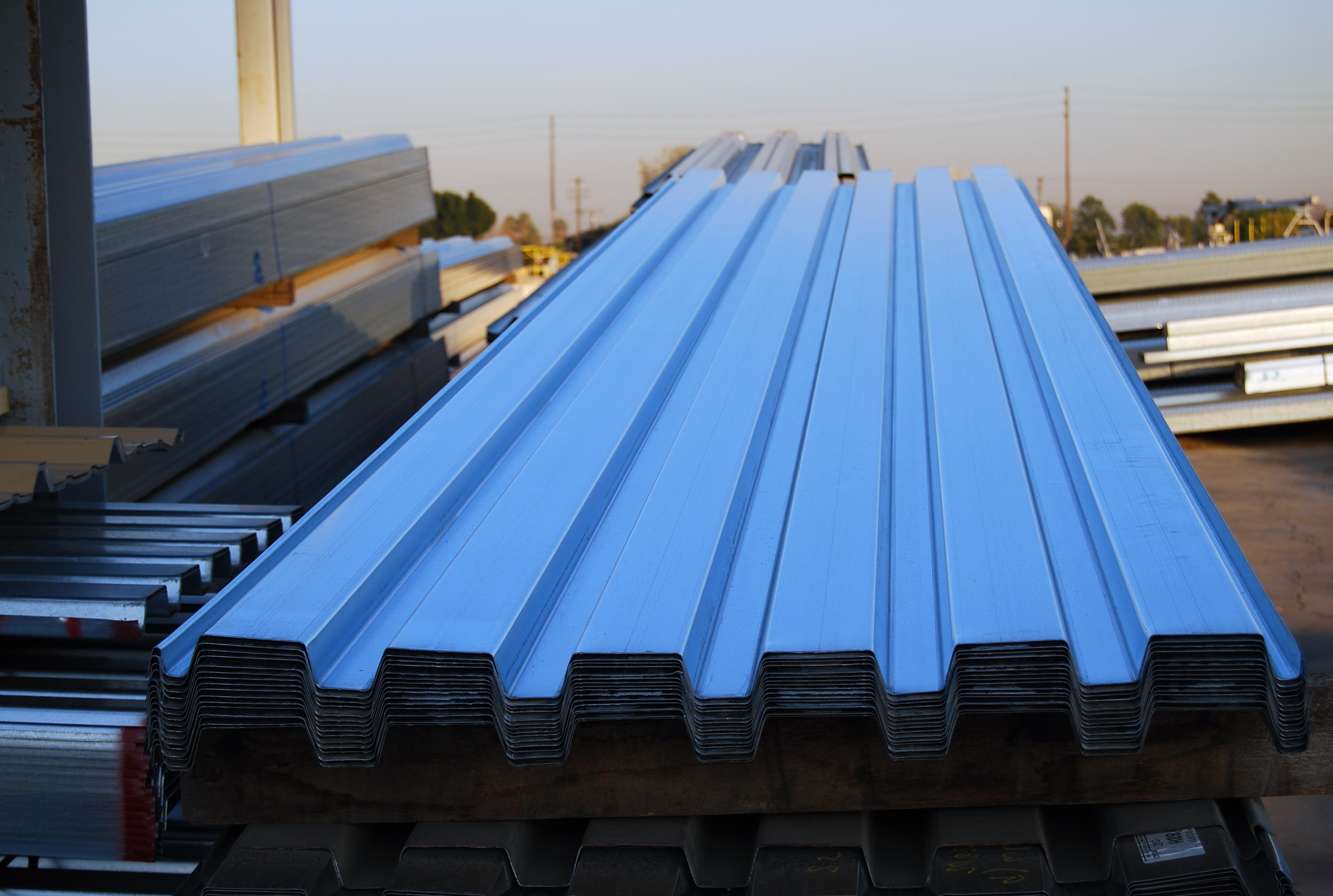 Corrugated Metal Decking Specifications