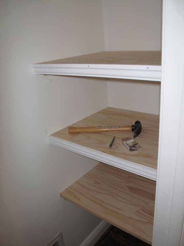 Cover For Wire Closet Shelves