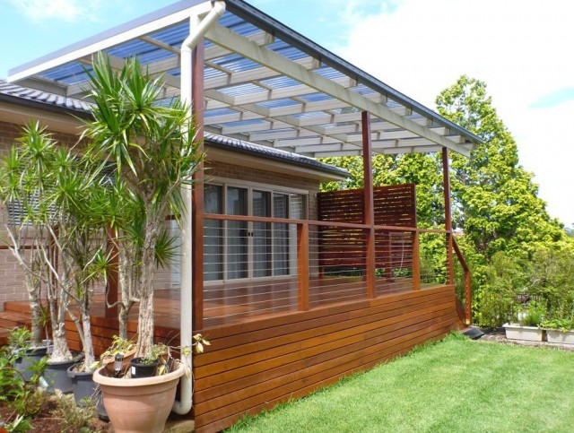 Covered Deck Ideas For Mobile Homes