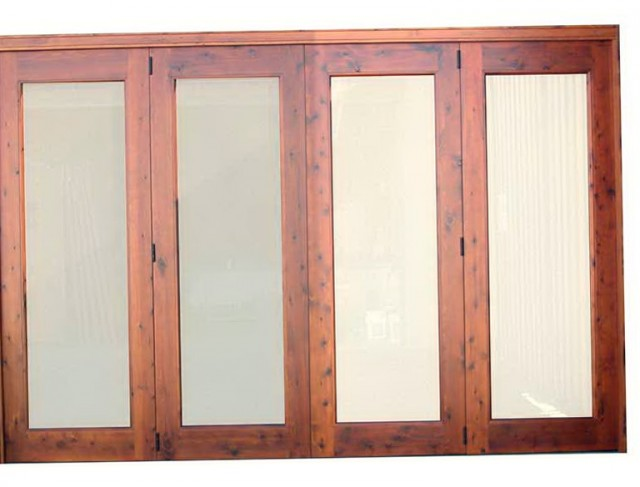 Custom Louvered Bifold Closet Doors