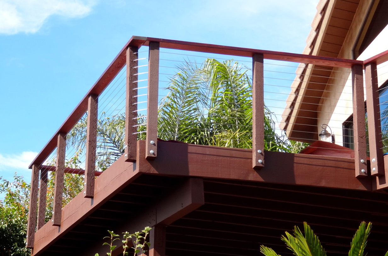 Deck Cable Railing Diy Home Design Ideas