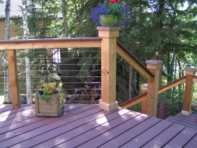 Deck Cable Railing Ideas