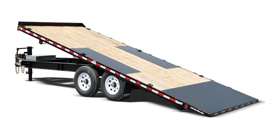 Deck Over Tilt Trailer