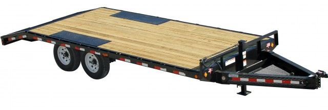 Deck Over Trailers For Rent