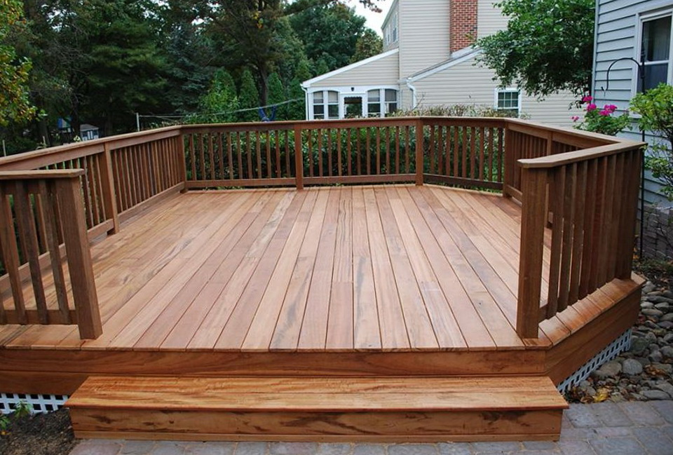 Deck plans free standing home design ideas for Deck planner online free