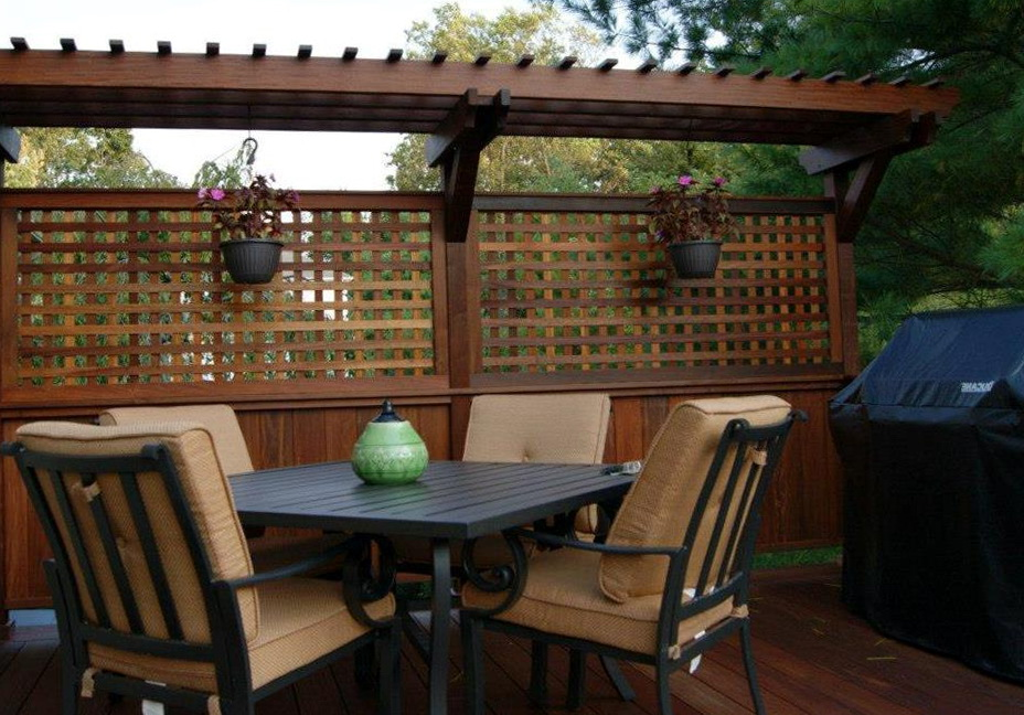 Deck Privacy Walls Ideas Home Design Ideas