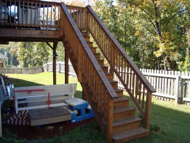 Deck Stair Railing Code Requirements Home Design Ideas
