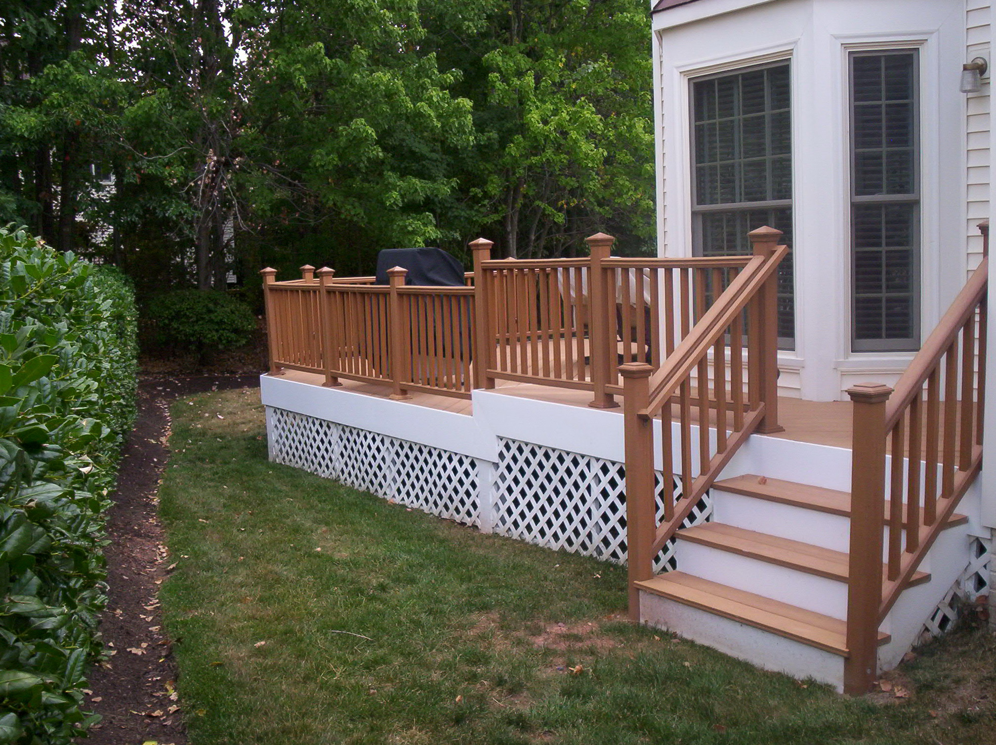 Deck Stair Handrail Designs Home Design Ideas