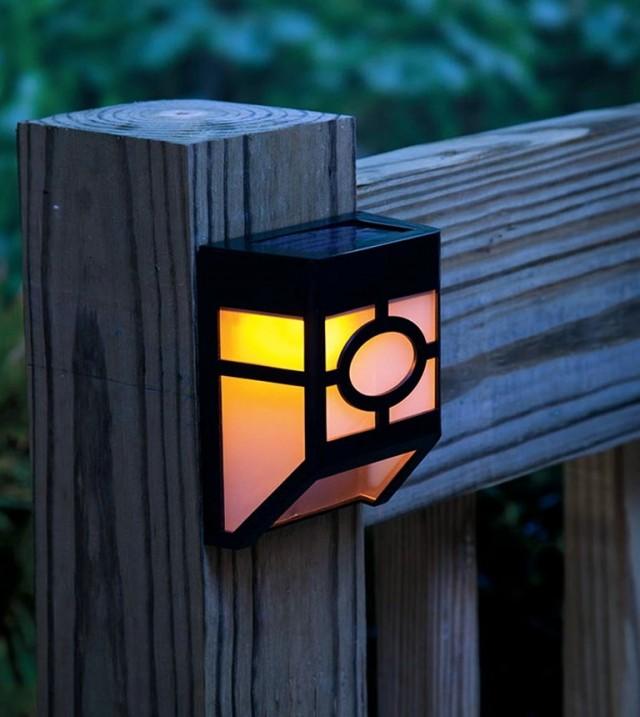 Deck Stair Lighting Solar