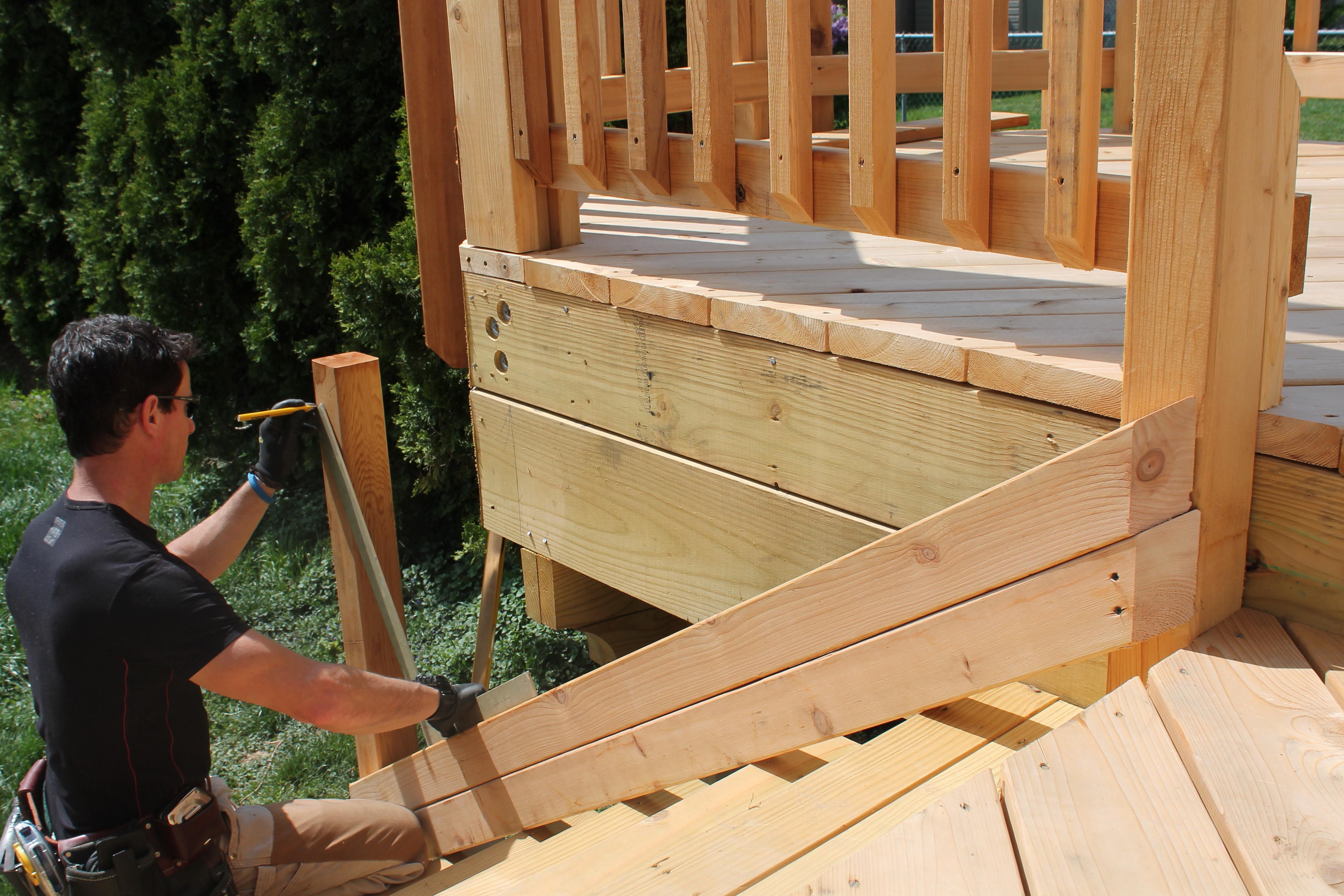 Deck Stair Railing Posts | Home Design Ideas