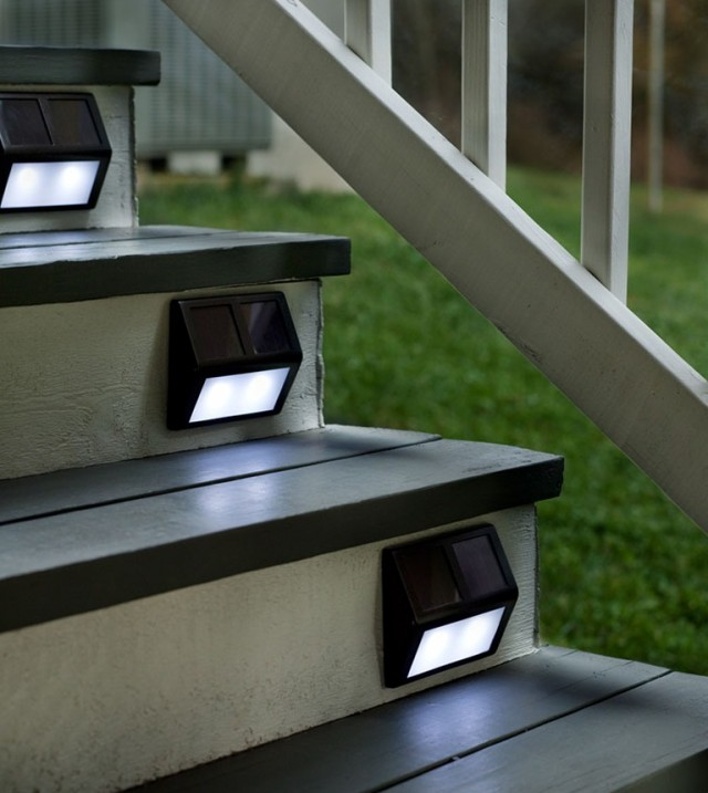 Solar Deck Step Lights Lowes Home Design Ideas