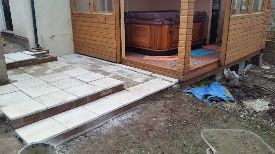 Deck Tiles Over Concrete Slab
