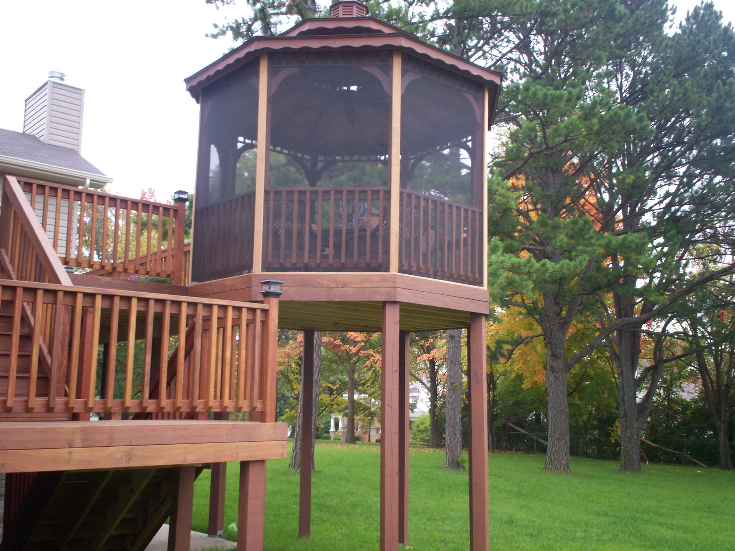 Deck With Gazebo Ideas