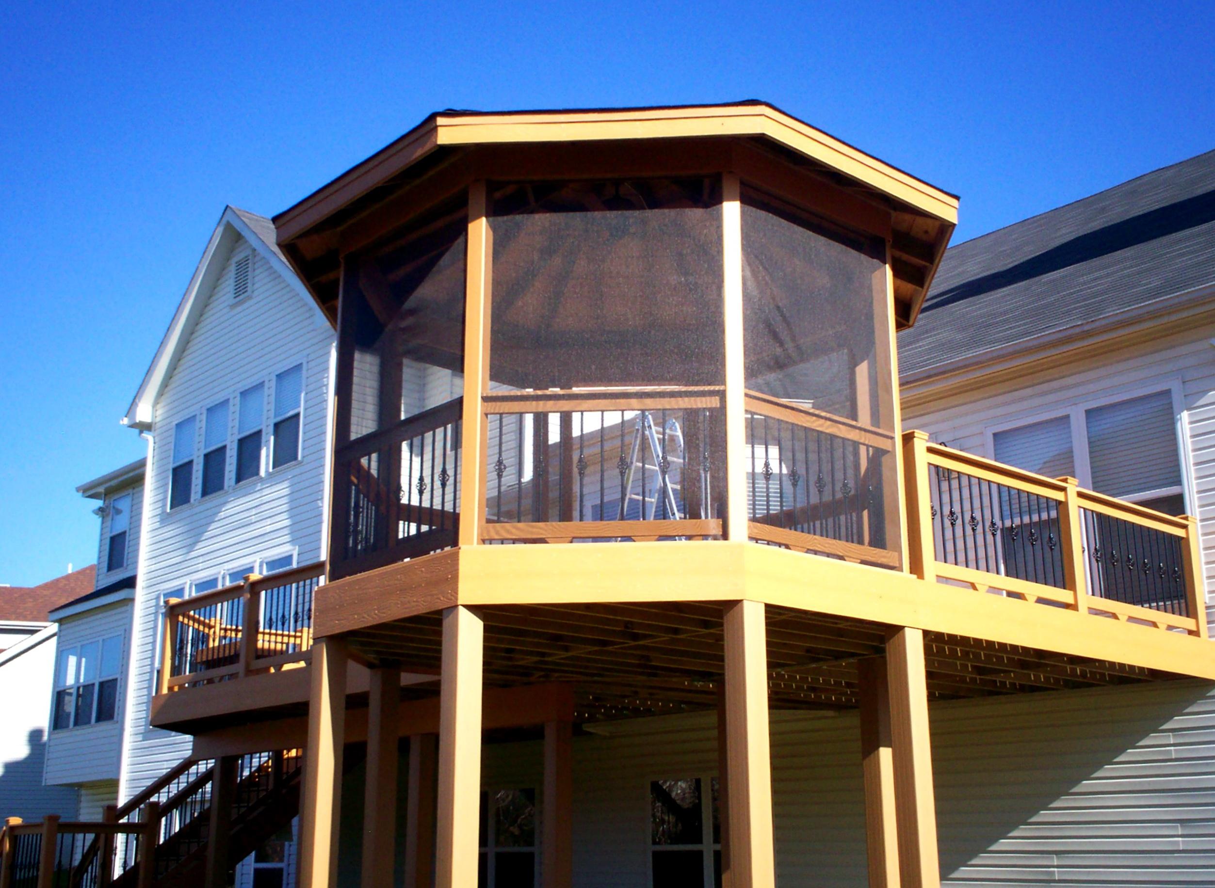 Deck With Gazebo Photos