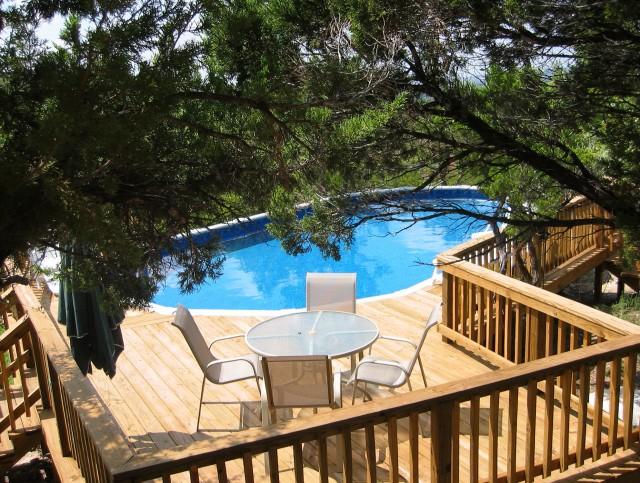 Decks For Above Ground Pools Photos