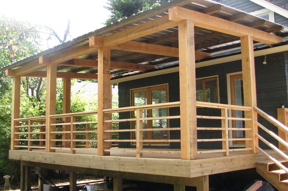 Decks With Roofs Ideas Home Design Ideas
