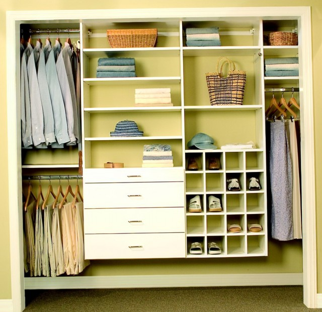 Design Reach In Closet