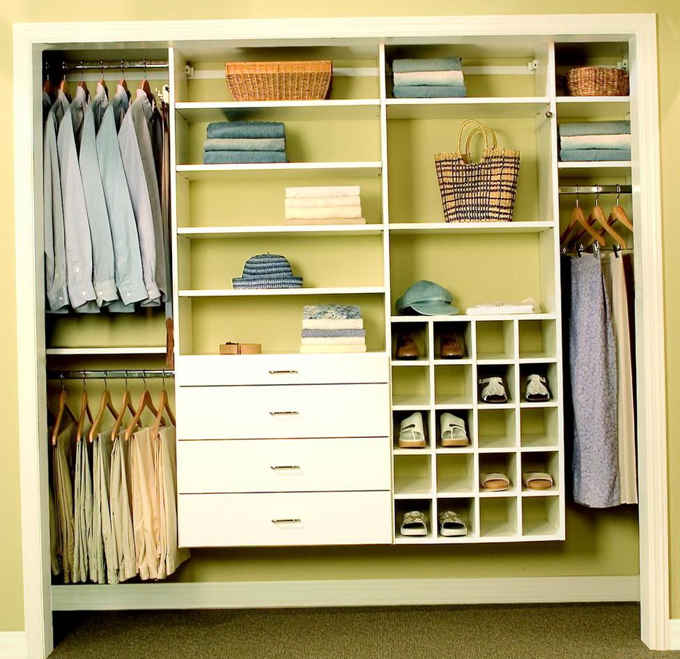 Design Reach In Closet