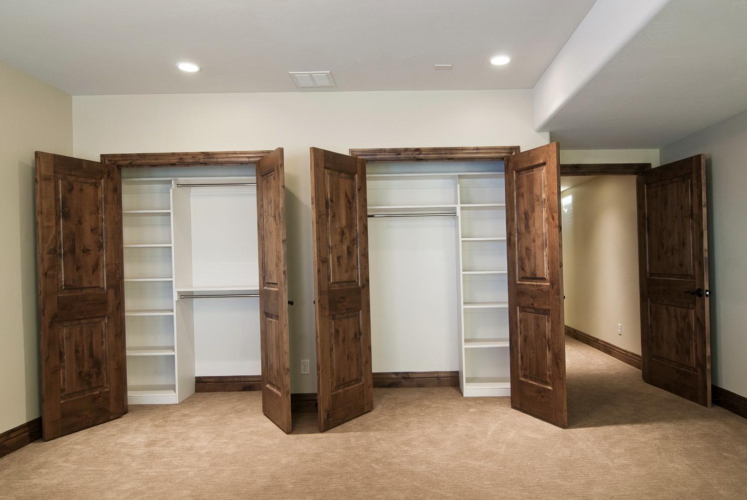Diy Built In Closet Shelves Home Design Ideas
