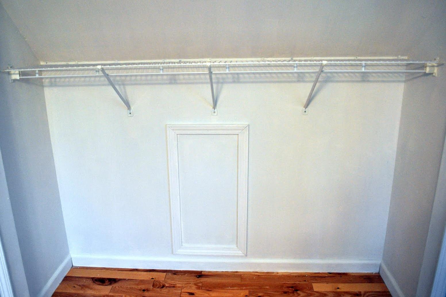 diy closet rod. Diy Closet Rod Dividers