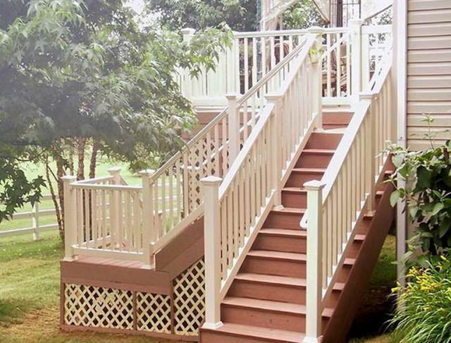 Diy Deck Stair Railing