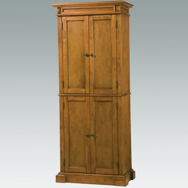 Diy Free Standing Pantry With Broom Closet