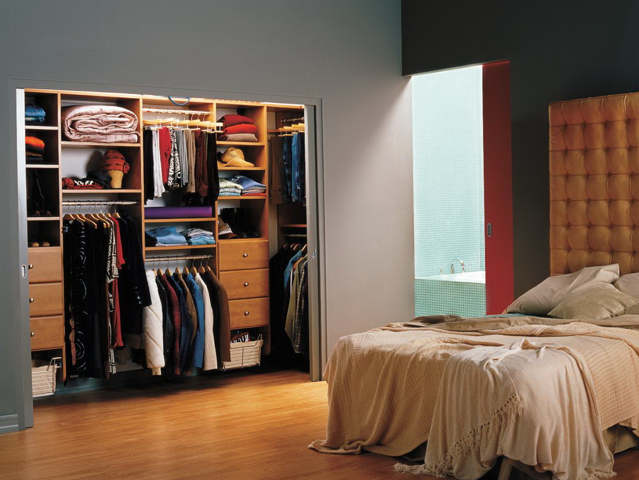 Diy Reach In Closet Design