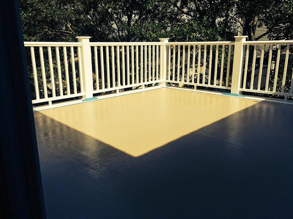 Fiberglass Roof Deck Maintenance