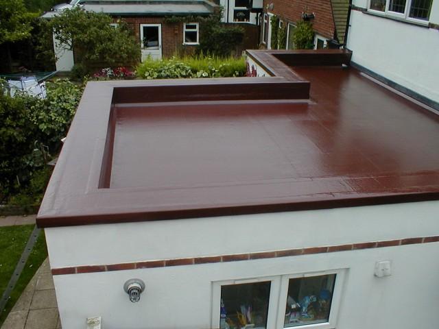 Flat Roof Deck Options
