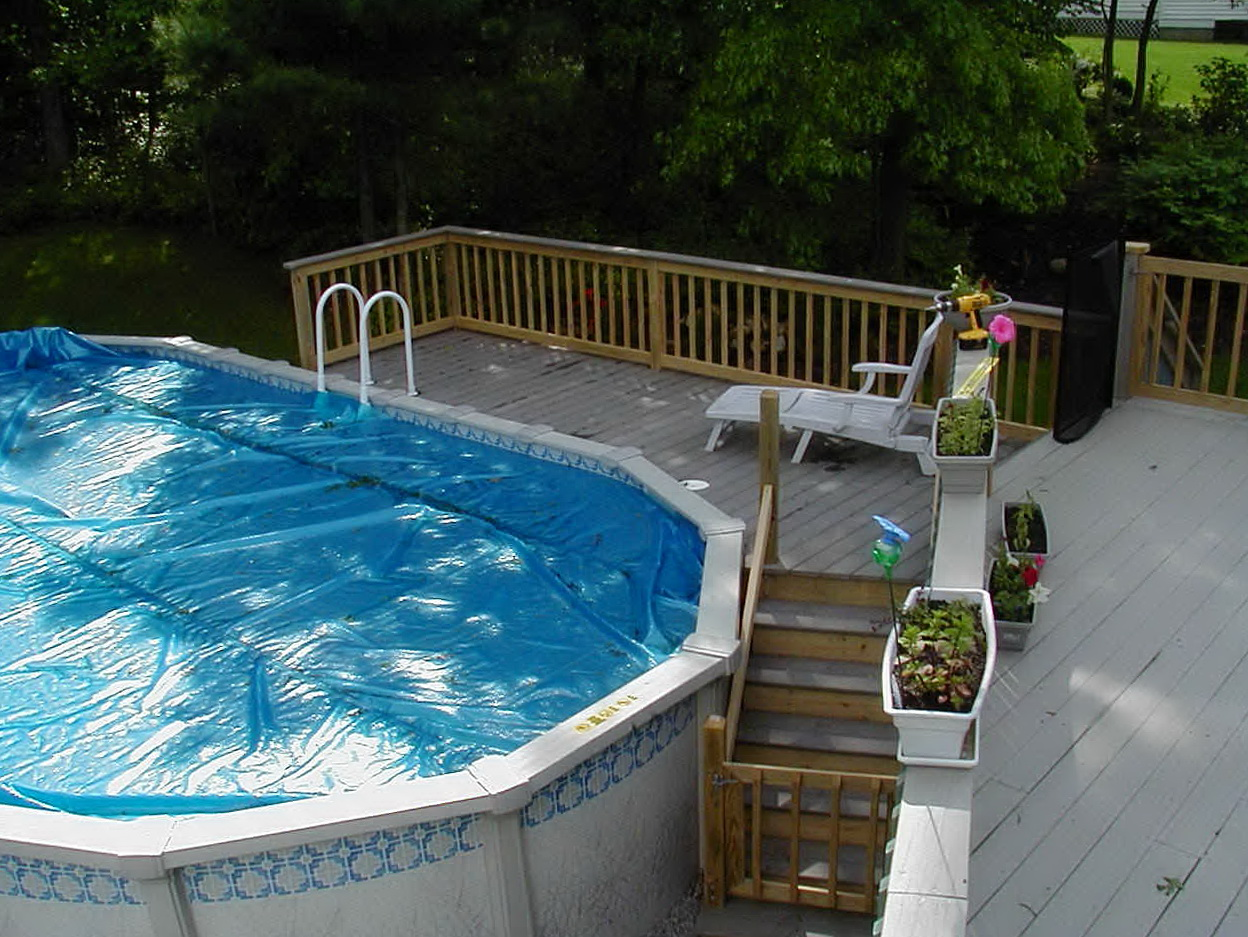 Free Diy Deck Plans For Above Ground Pools Home Design Ideas