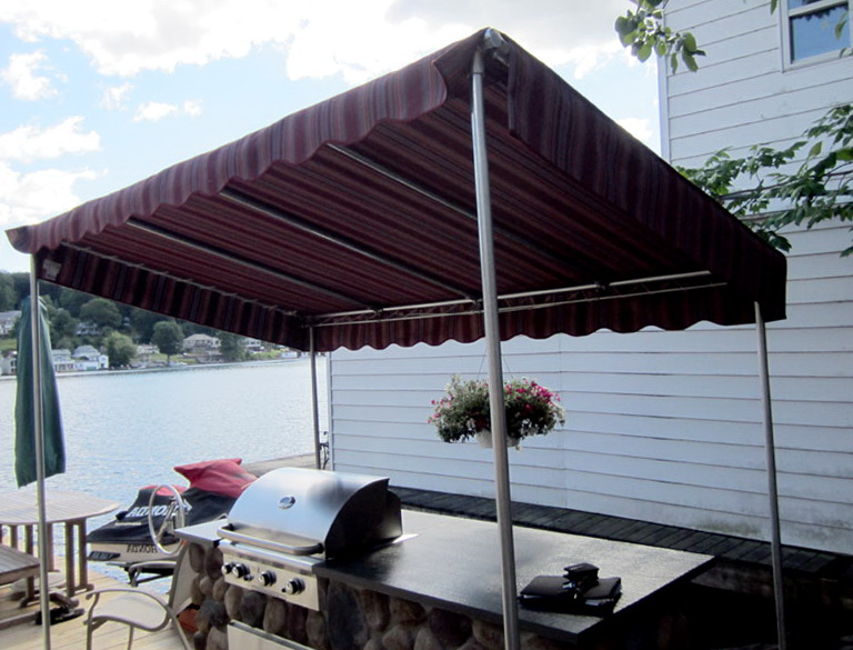 Free Standing Awnings For Decks Home Design Ideas