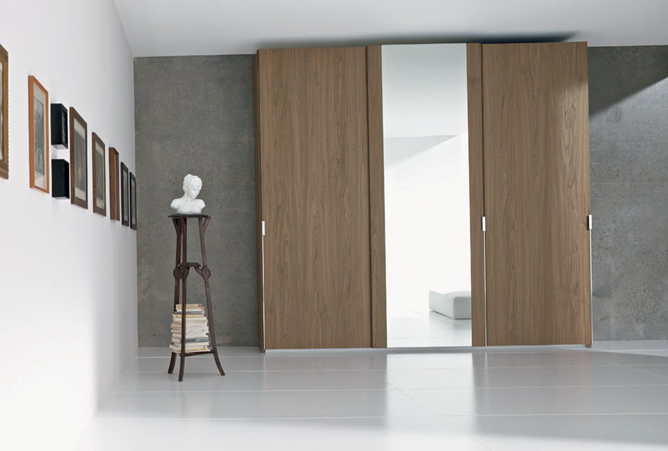 Free Standing Wardrobe Closet With Sliding Doors Home