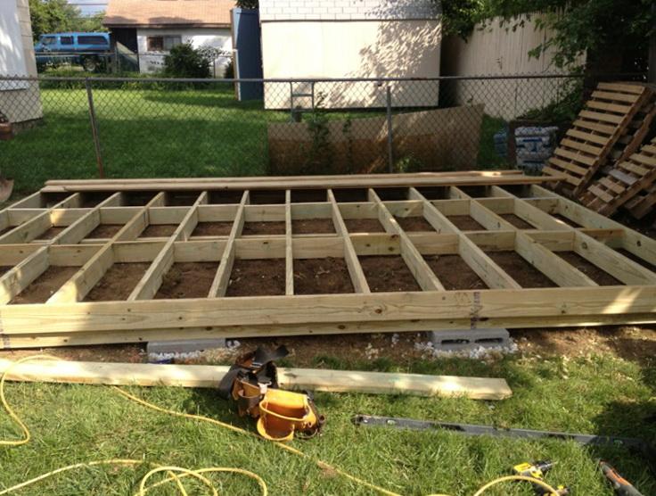 Freestanding Deck Plans