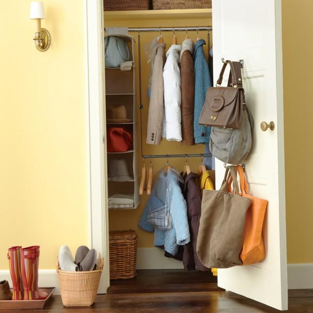 Front Hall Closet Organization Ideas