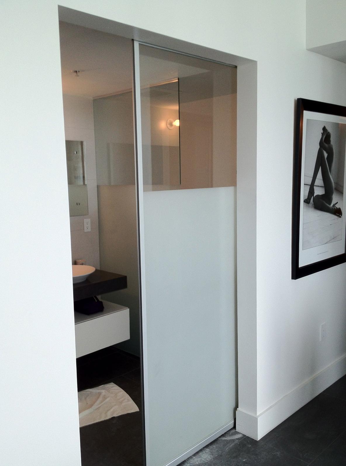 Frosted Glass Bifold Closet Doors Home Design Ideas