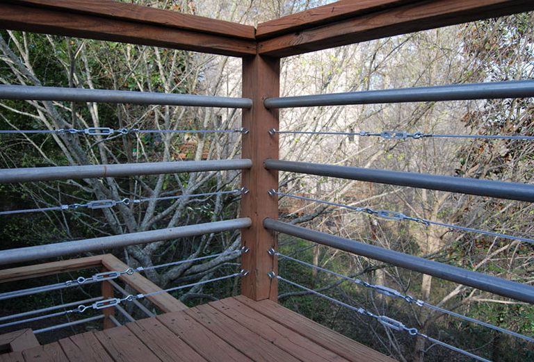 Galvanized Steel Conduit For Deck Railings Home Design Ideas