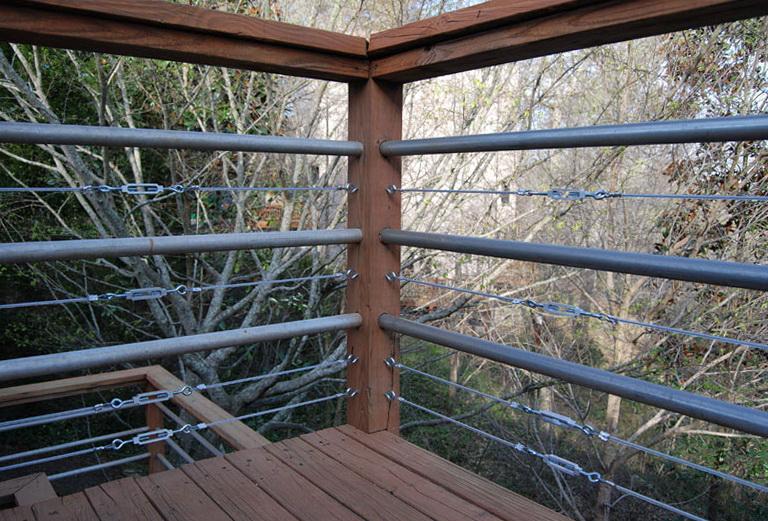 Galvanized Steel Conduit For Deck Railings Home Design Ideas