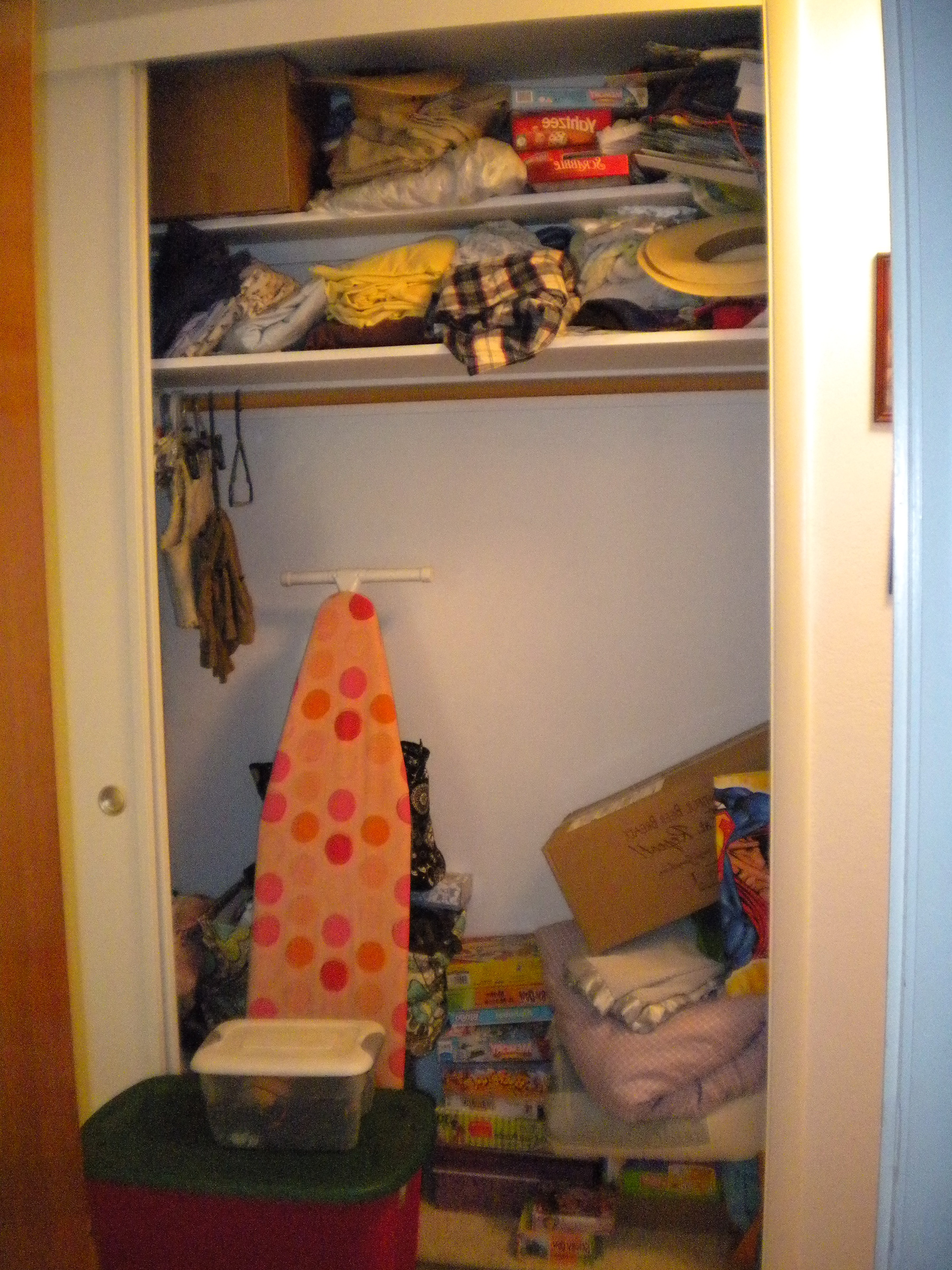 Hall Closet Organization Pinterest