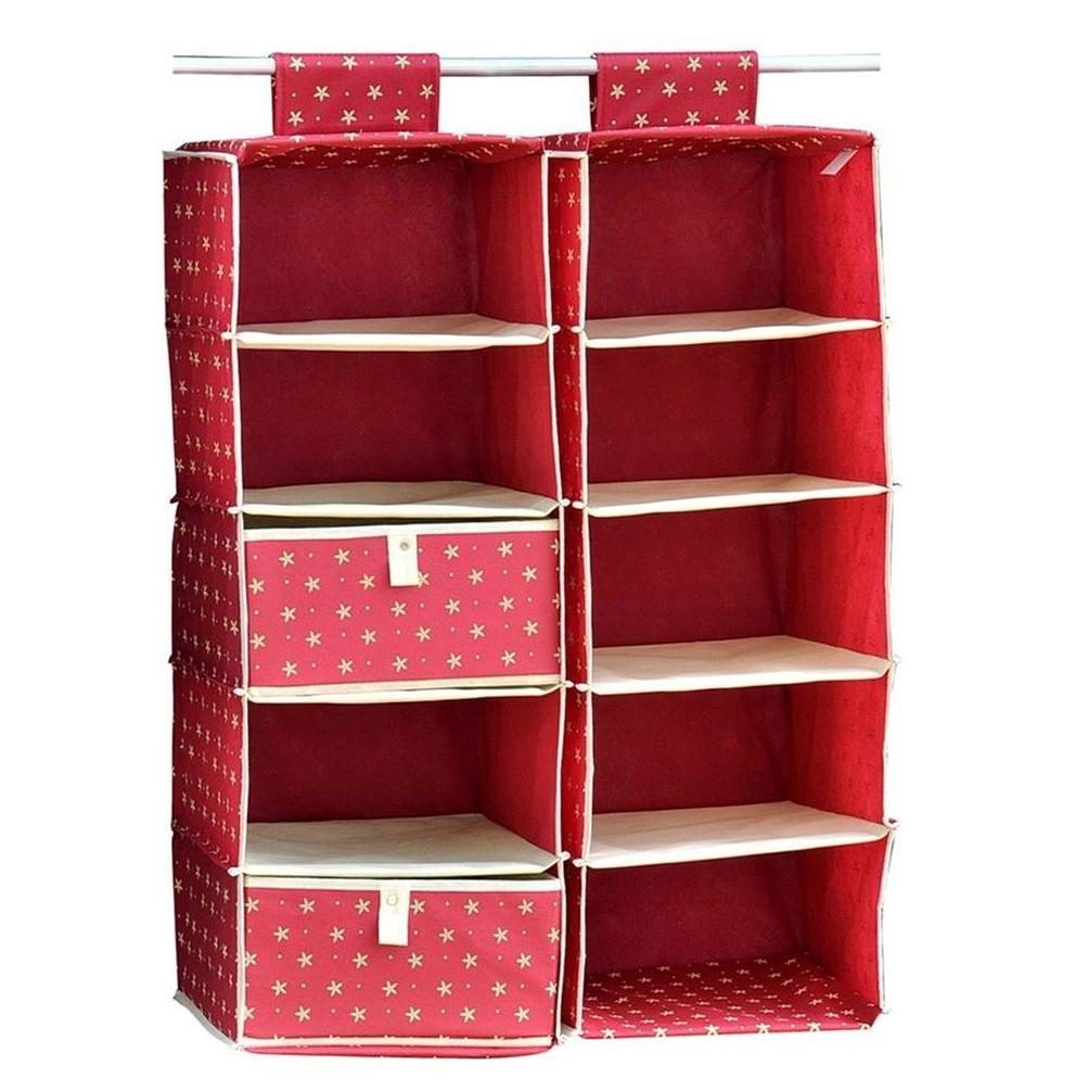 Hanging Closet Storage Shelves