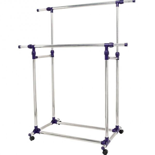 Heavy Duty Portable Closet Rack