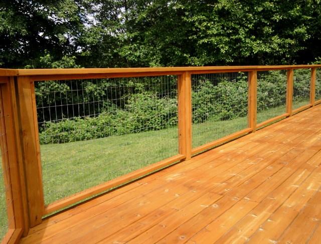 Wire Deck Railing Ideas Home Design Ideas