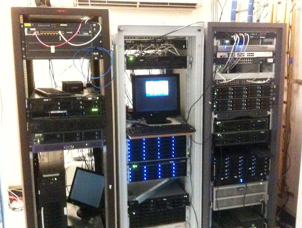 Home Network Closet Rack