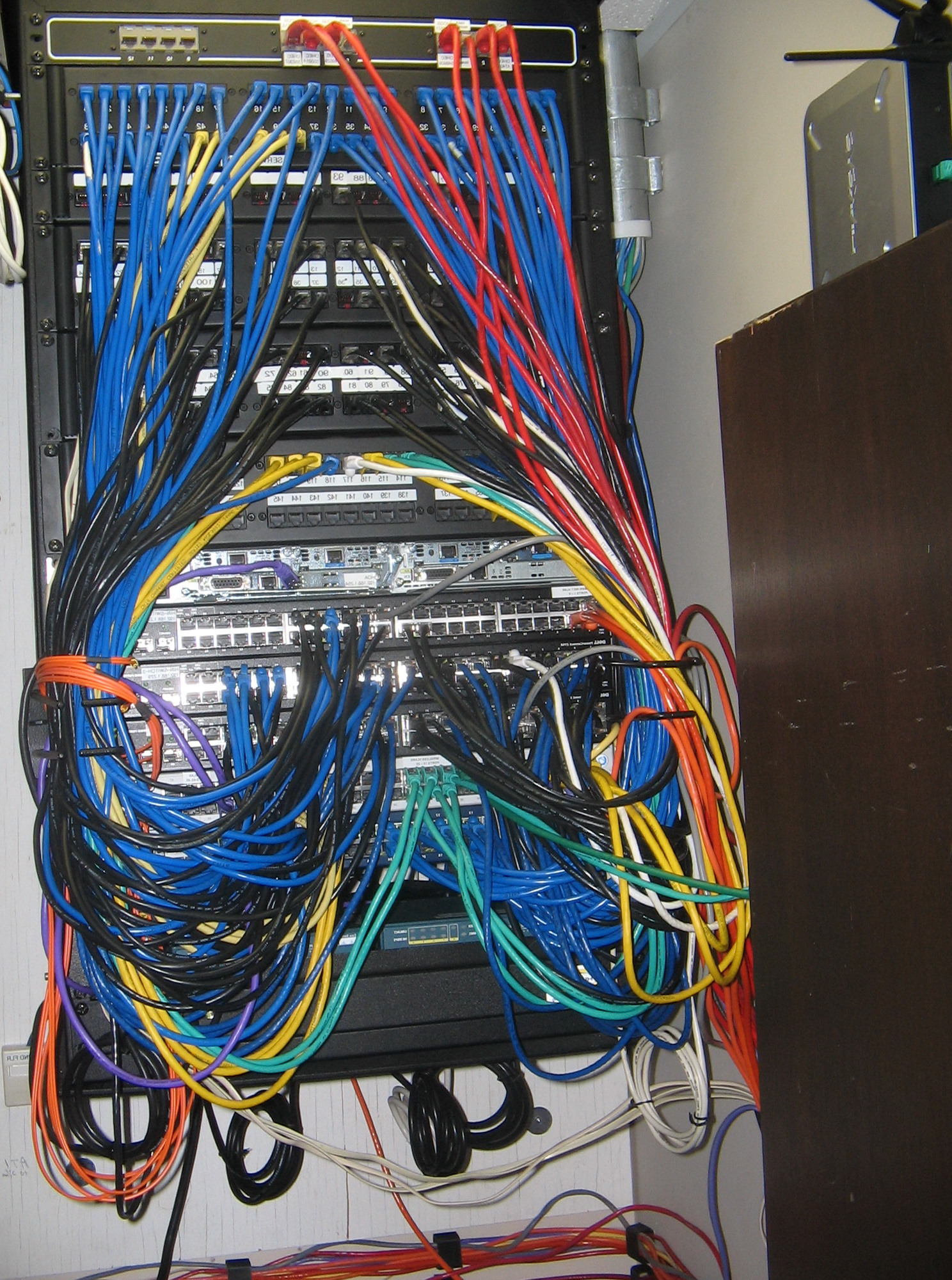 Home Network Wiring Closet Solutions Basic Design Ideas
