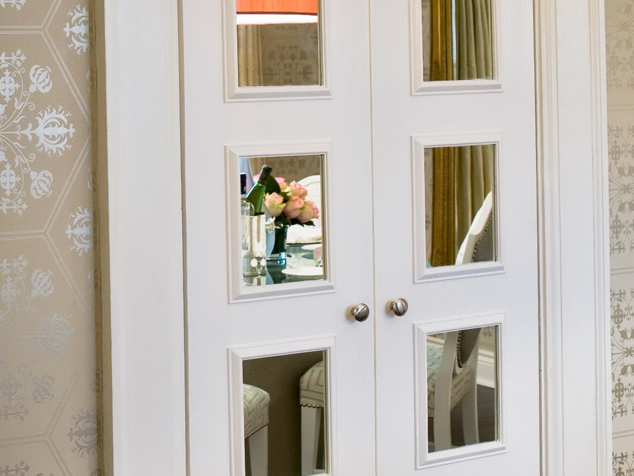 How To Change Mirrored Closet Doors Home Design Ideas